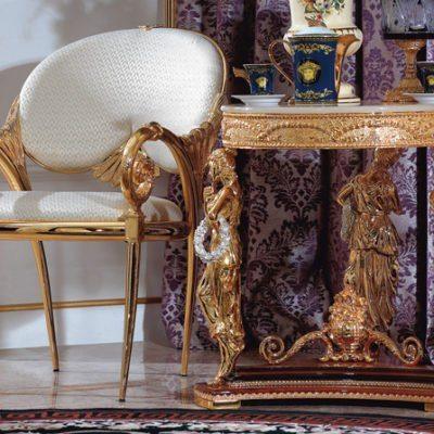 Krzesło z poręczami GF-K-878-1