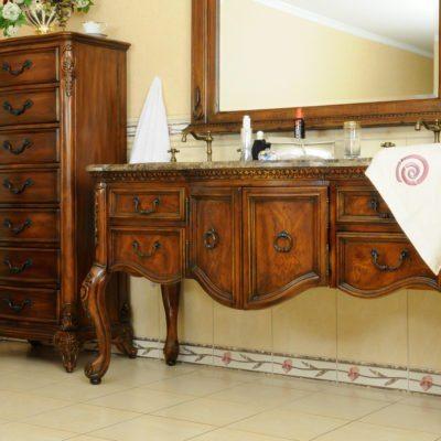 Komoda łazienkowa łącznie z umywalką i kranem K08-S