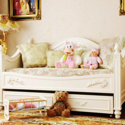 Łóżeczko dla dziecka R53-TSD
